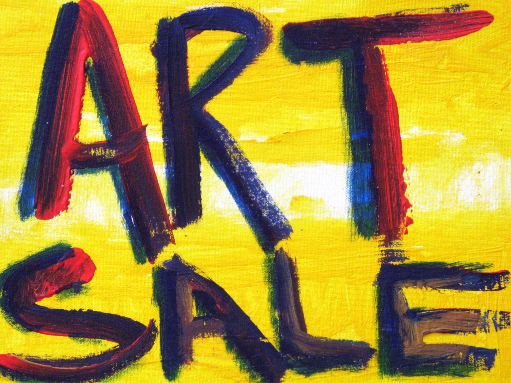 Art sale painting greenwood calendar for Artwork on canvas for sale