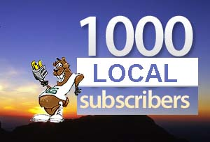 Thank You Over 1,000 Subscribers