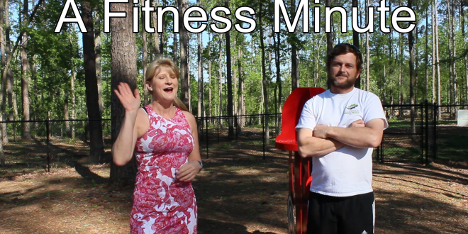 Fitness Minute at the Park